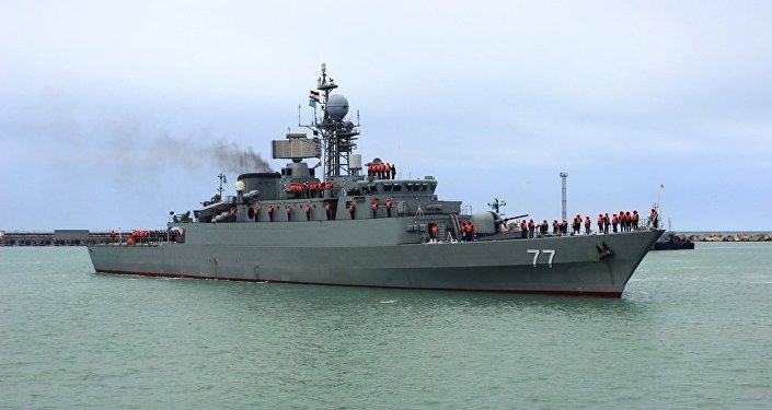Иранские военные корабли зашли в порт Актау