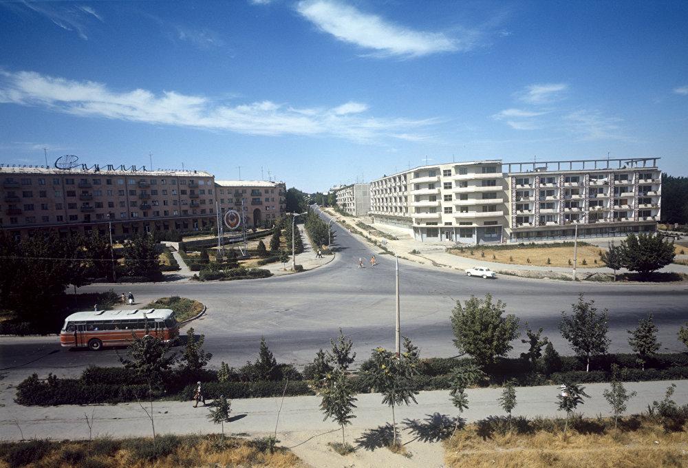 Чимкент қаласындағы Түркістан көшесі