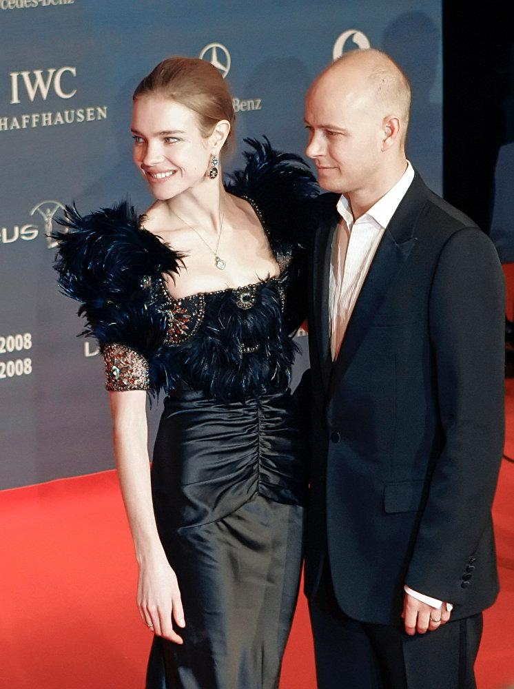 Супермодель Наталья Водянова и ее бывший муж Джастин Портмэн