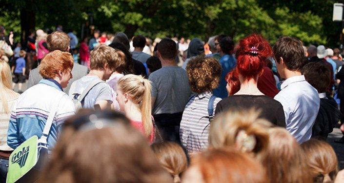 Толпа, люди