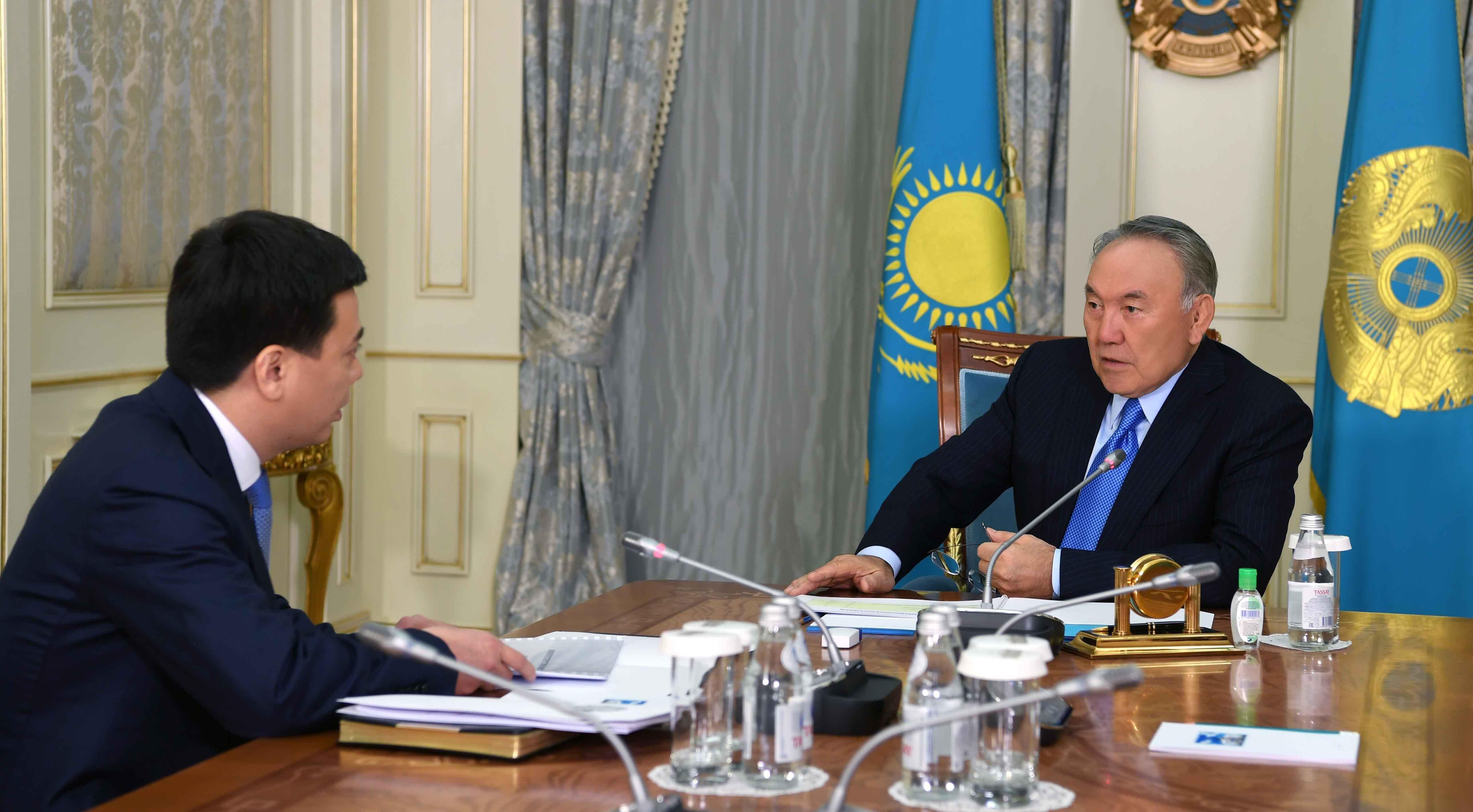 Министр юстиции Марат Бекетаев на встрече с президентом Казахстана