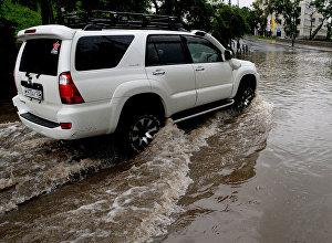 Проливные дожди. Архивное фото