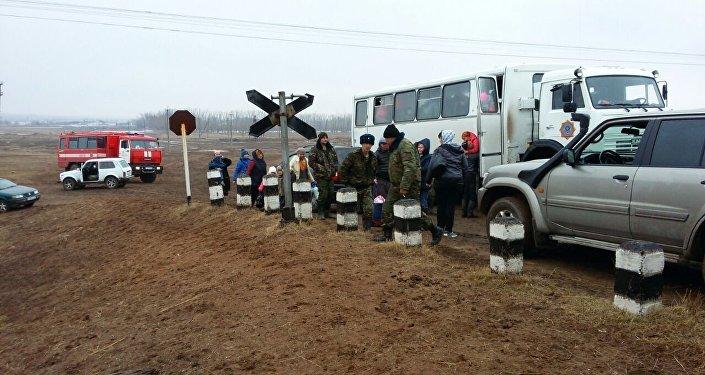 Эвакуация жителей в Карагандинской области