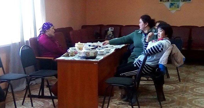 Эвакуированные жители Карагандинской области