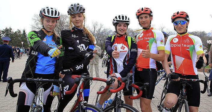 Открытие велосезона в Алматы
