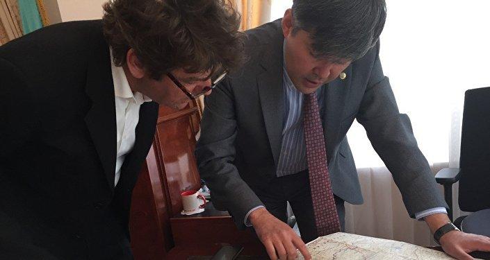 Путешественник Дирк Ян Рулевен посетит Казахстан