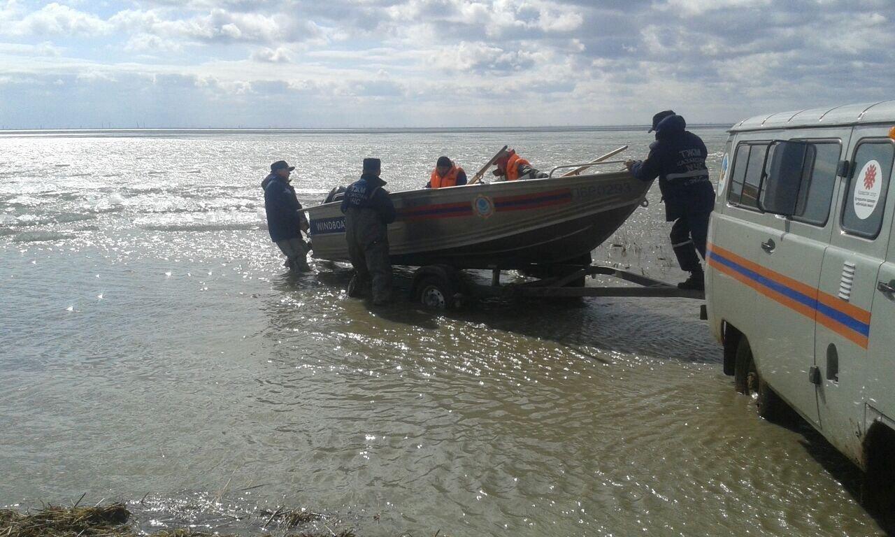 Спасенные рыбаки