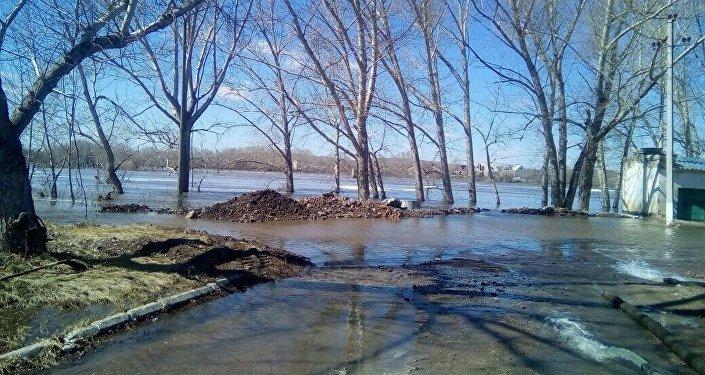 Паводок в Темиртау