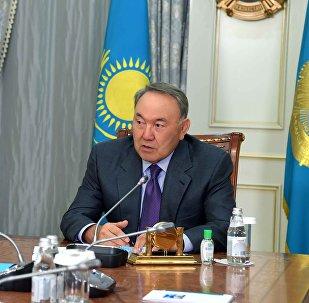 Нұрсұлтан Назарбаев Бақытжан Сағынтаевпен кездесті