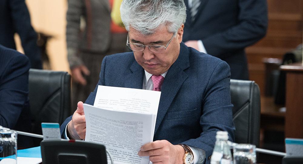 Министр культуры и спорта Республики Казахстан Арыстанбек Мухамедиулы