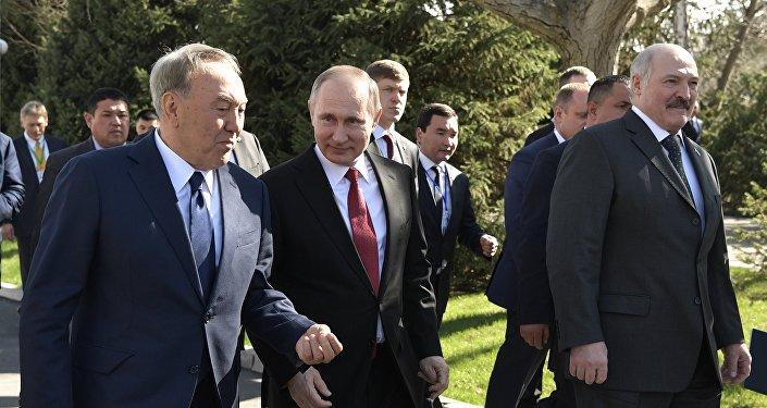 Визит президента РФ В. Путина в Киргизию