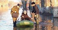Чкалово ауылындағы су тасқыны