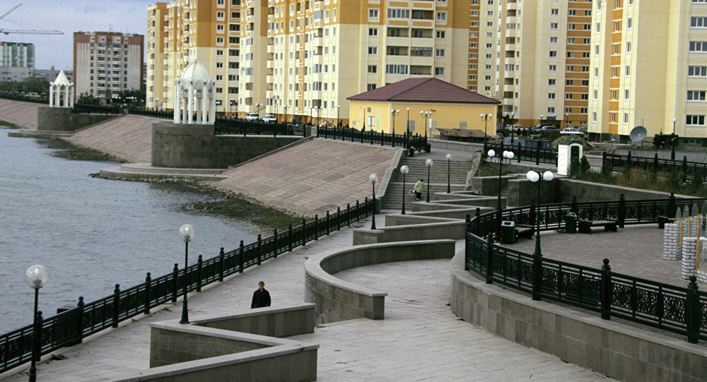 Астана Ишим набережная