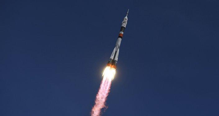Архивное фото запускв ракеты-носителя