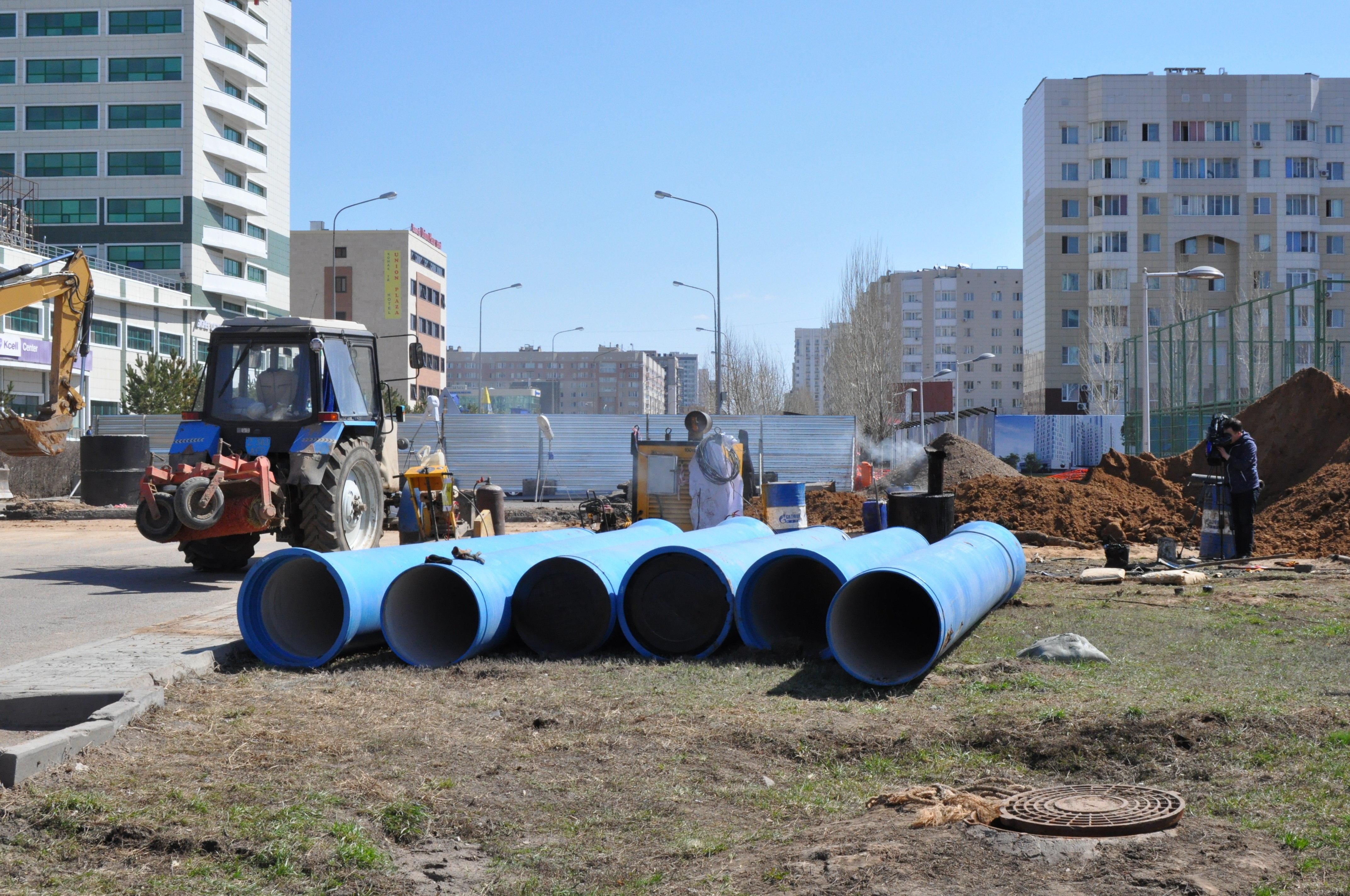 Дорожный ремонт в Астане