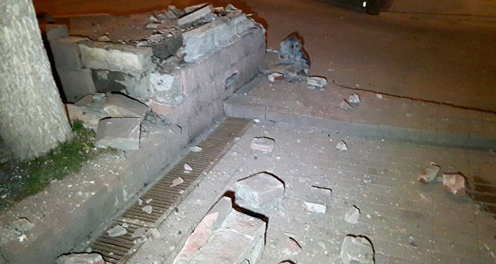 Автомобиль влетел в дом в Алматы