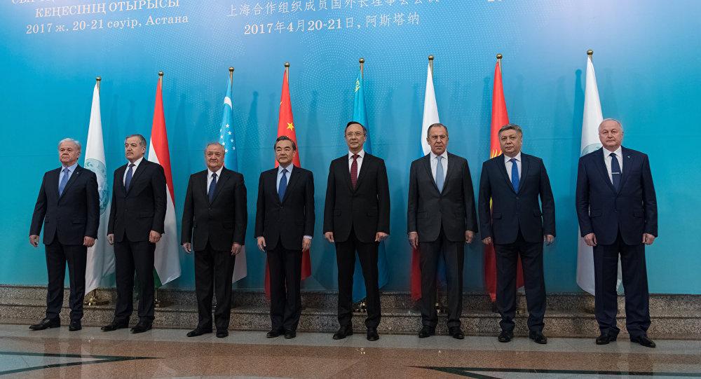 Заседание Совета министров иностранных дел государств-членов ШОС