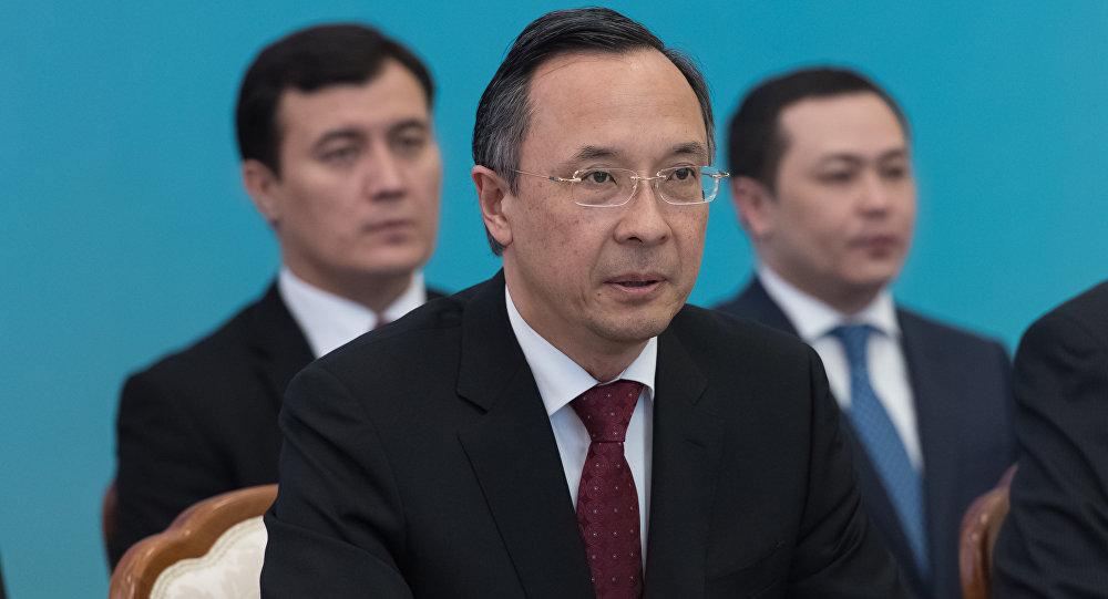 Сыртқы істер министрі Қайрат Әбдірахмаанов