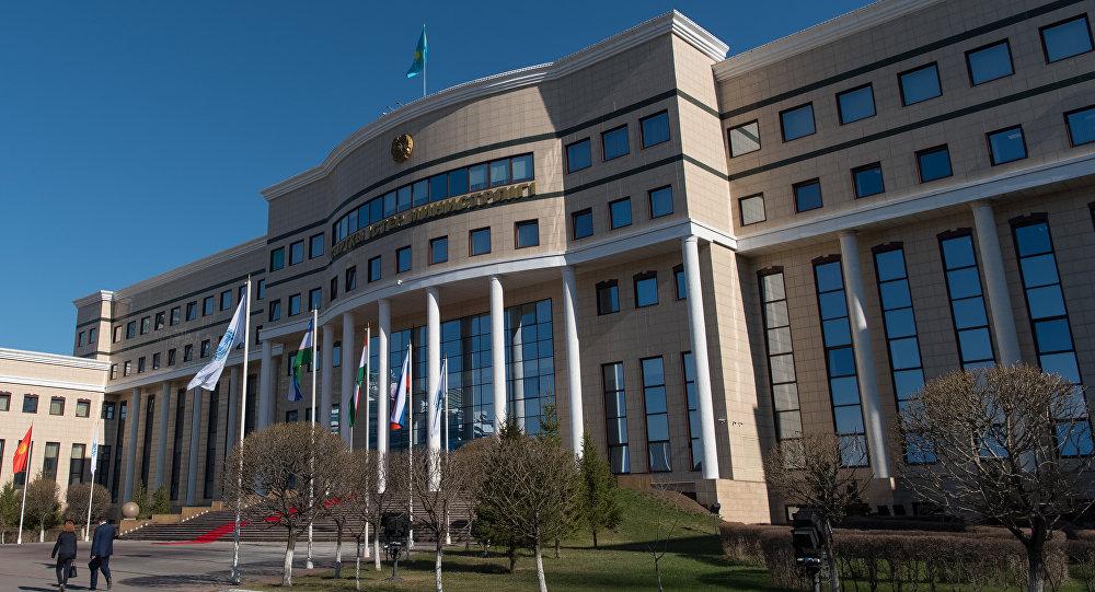 Здание министерства иностранных дел РК