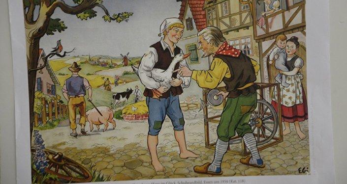 Иллюстрации к сказкам братьев Гримм