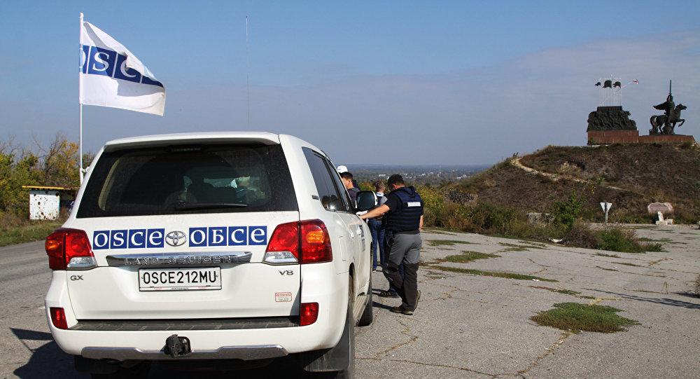 Руководитель миссии проинформировал о смерти жителя Америки — Взрыв автомобиля ОБСЕ