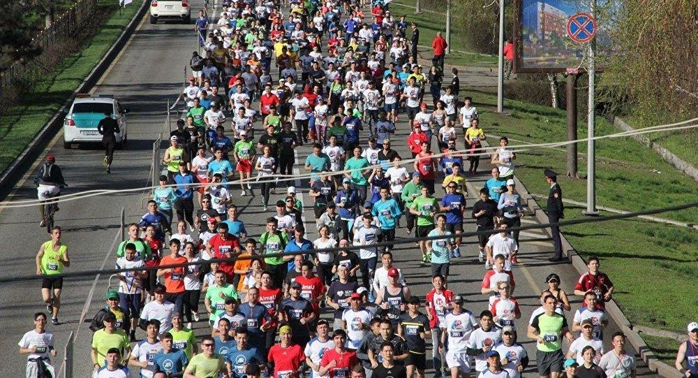 Шестой алматинский марафон