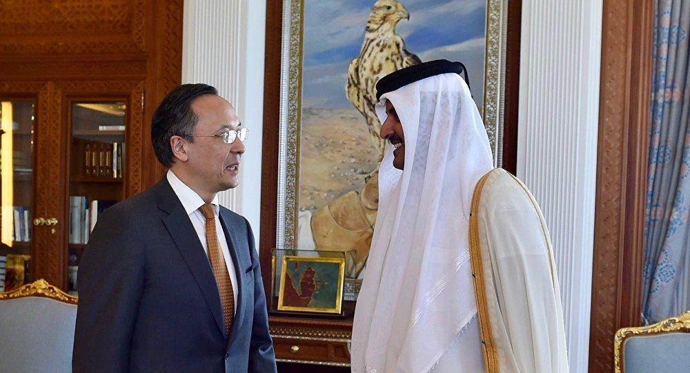 Визит главы МИд РК Кайрата Абдрахманова в Катар