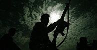 Солдат, архивное фото