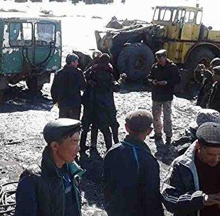 Спасение шахтеров в Иссык-Куле