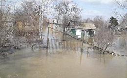 Остров Заречный: поселок на окраине Петропавловска отрезан от большой земли