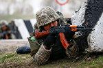 Казахстанский военнослужащий