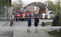 Эвакуация пассажиров метро в Алматы