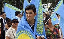 Казахстанцы, архивное фото