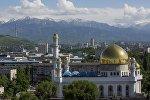 Центральная мечеть в Алматы, архивное фото