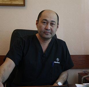 Заведующий отделением ортопедии Научно-исследовательского института травматологии и ортопедии Министерства здравоохранения РК Сейдали Абдалиев