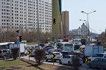 Астанадағы автокөлік кептелісі