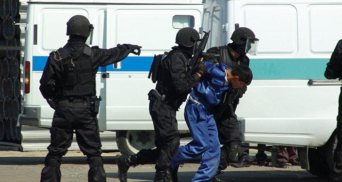 Бойцы спецназа КНБ РК, иллюстративное фото