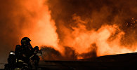Архивное фото пожара