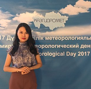 инженер-синоптик  Лаура Сайлыбаева