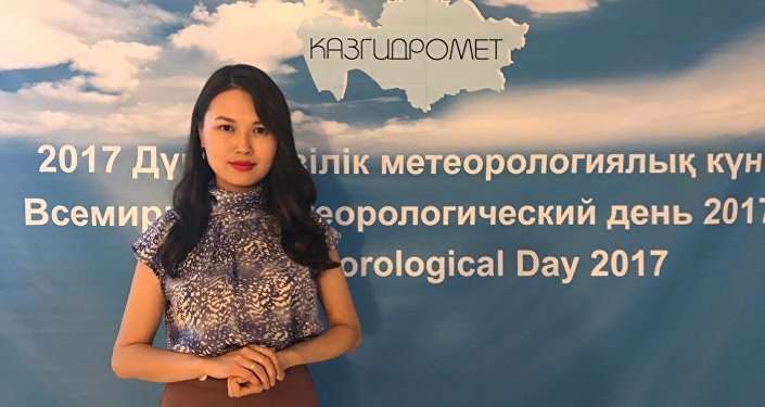 инженер-синоптик РГП Казгидромет Лаура Сайлыбаева