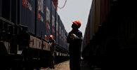 Железнодорожный рабочий