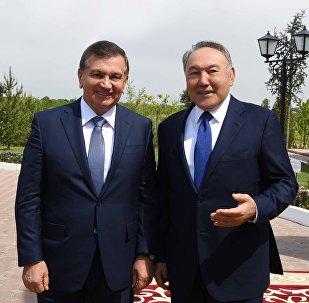 Шавкат Мирзиёев и Нурсултан Назрбаев
