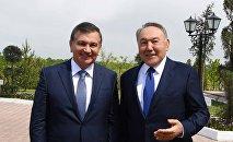 Шавкат Мирзиёев пен Нұрсұлтан Назарбаев