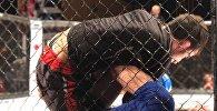 MMA спортшыларының жекпе-жегі, архивтегі сурет