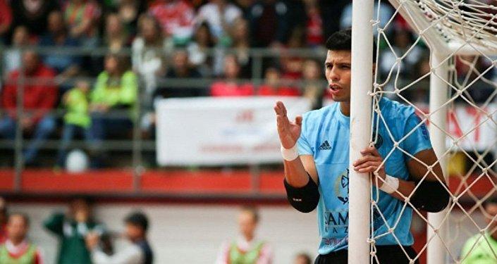 Вратарь футзального клуба Кайрат Игита