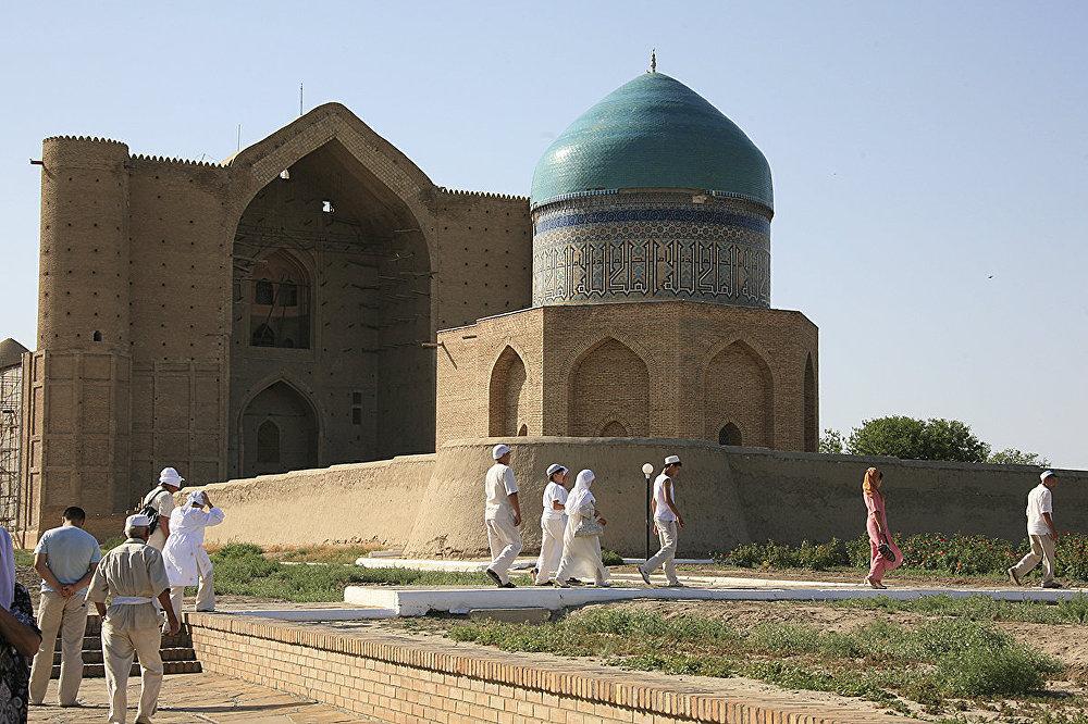 Мавзолей Ходжи Ахмеда Яссауи