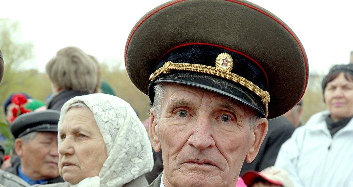 ветеран ВОВ Анатолий Гершунов
