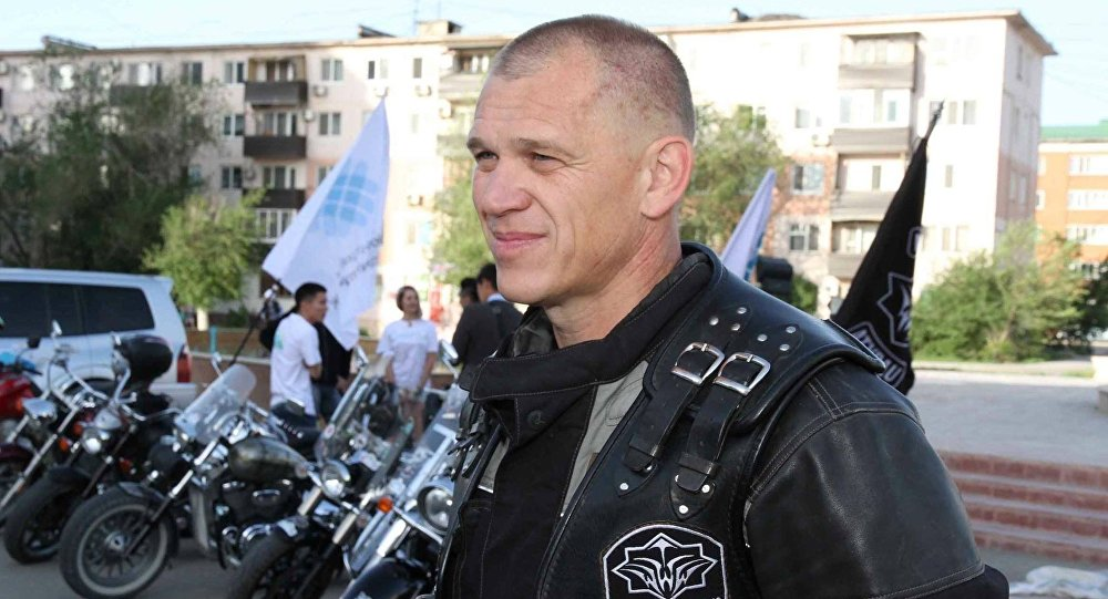 Президент мотоклуба Wheels Brothers Олег Шмаль