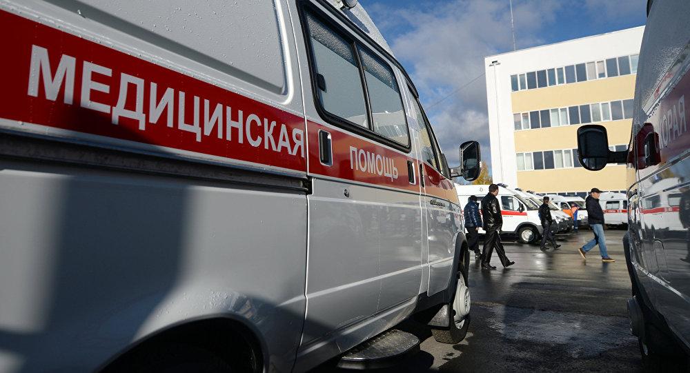Архивное фото машины скорой медицинской помощи