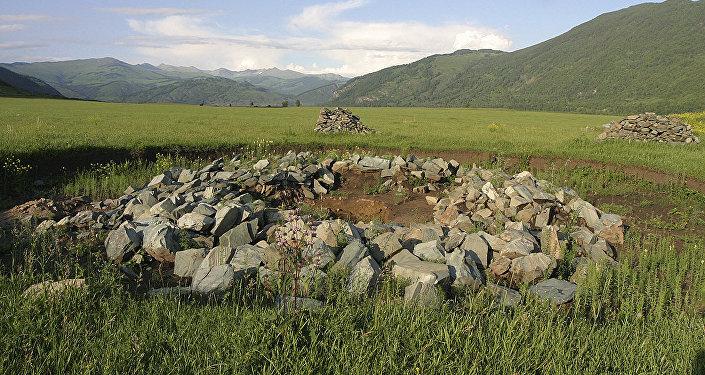 Шығыс Қазақстан облысындағы Берел қорғаны
